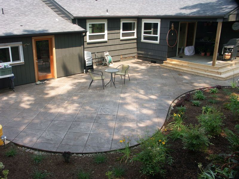 How To Choose Decorative Concrete Ideas For Outdoor Space